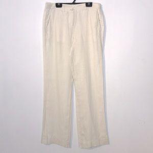 Guess linen straight leg trousers